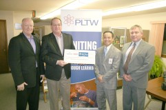 Emerson Process Management - Fisher Division pledged $75,000 over three years to PLTW.