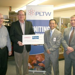 Lennox Industries pledged $30,000 over three years to PLTW.