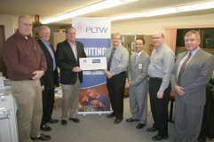 The Marshalltown Economic Development Impact Committee (MEDIC) donated $60,000 toward PLTW.