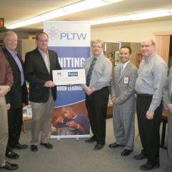 The Marshalltown Economic Development Impact Committee (MEDIC) donated $60,000 toward PLTW.
