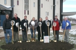 Roundhouse groundbreaking ceremony in November 2013.